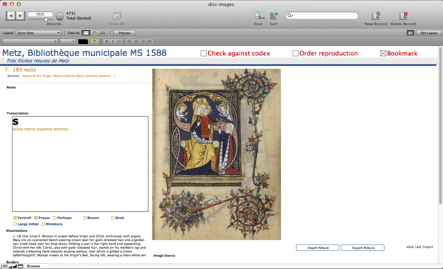 Database-Screenshot-Metz1588